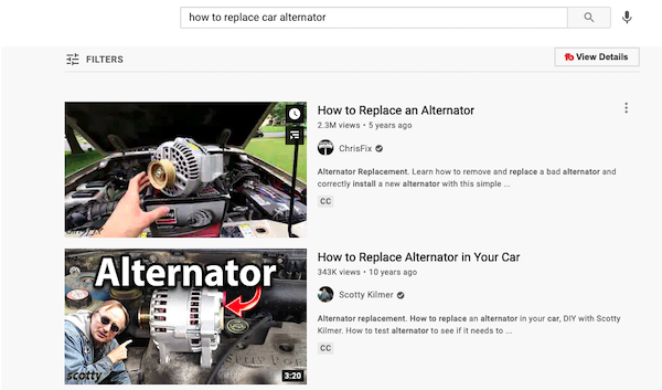 start a youtube channel to promote a repair shop